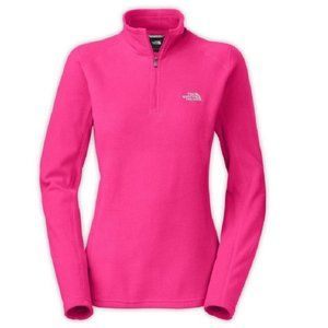 North Face 1/4 Zip TKA 100 Glacier Fleece Pullover